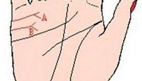 手相婚姻线图解:婚姻不合的手相图
