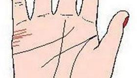 手相婚姻线图解:有两条婚姻线或者多条婚姻线
