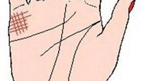 手相婚姻线图解:婚姻线异长杂乱的手相