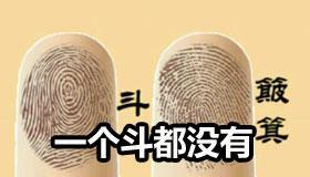 手指纹一个斗都没有的人命运会怎样