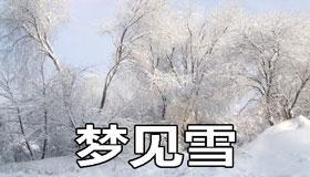 梦见雪是不好的征兆吗 要注意什么
