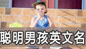 表示聪明又机智的的简短男孩英文名该怎么取