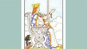 塔罗牌牌面解读宝剑王后分析