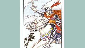 塔罗牌宝剑骑士正位逆位代表了什么