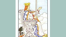 塔罗牌宝剑王后正位逆位代表什么含义