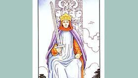 塔罗牌宝剑国王正位逆位代表含义