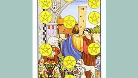 塔罗牌星币十的含义牌意解析