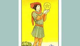 塔罗牌中星币侍从是什么意思解析
