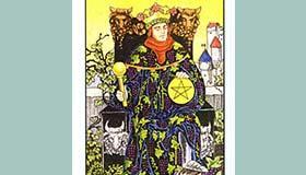 塔罗牌星币国王解析代表什么的含义