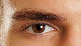右边眉毛长一根长白毛如何化解