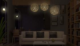 采光不好的客厅暗的房子如何破解风水呢