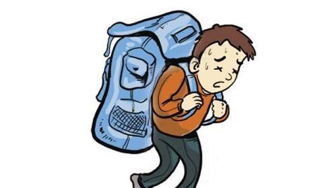 梦到自己背着沉重的大书包是什么意思