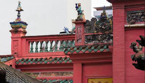 自己家的住房阳台看到寺庙好不好呢
